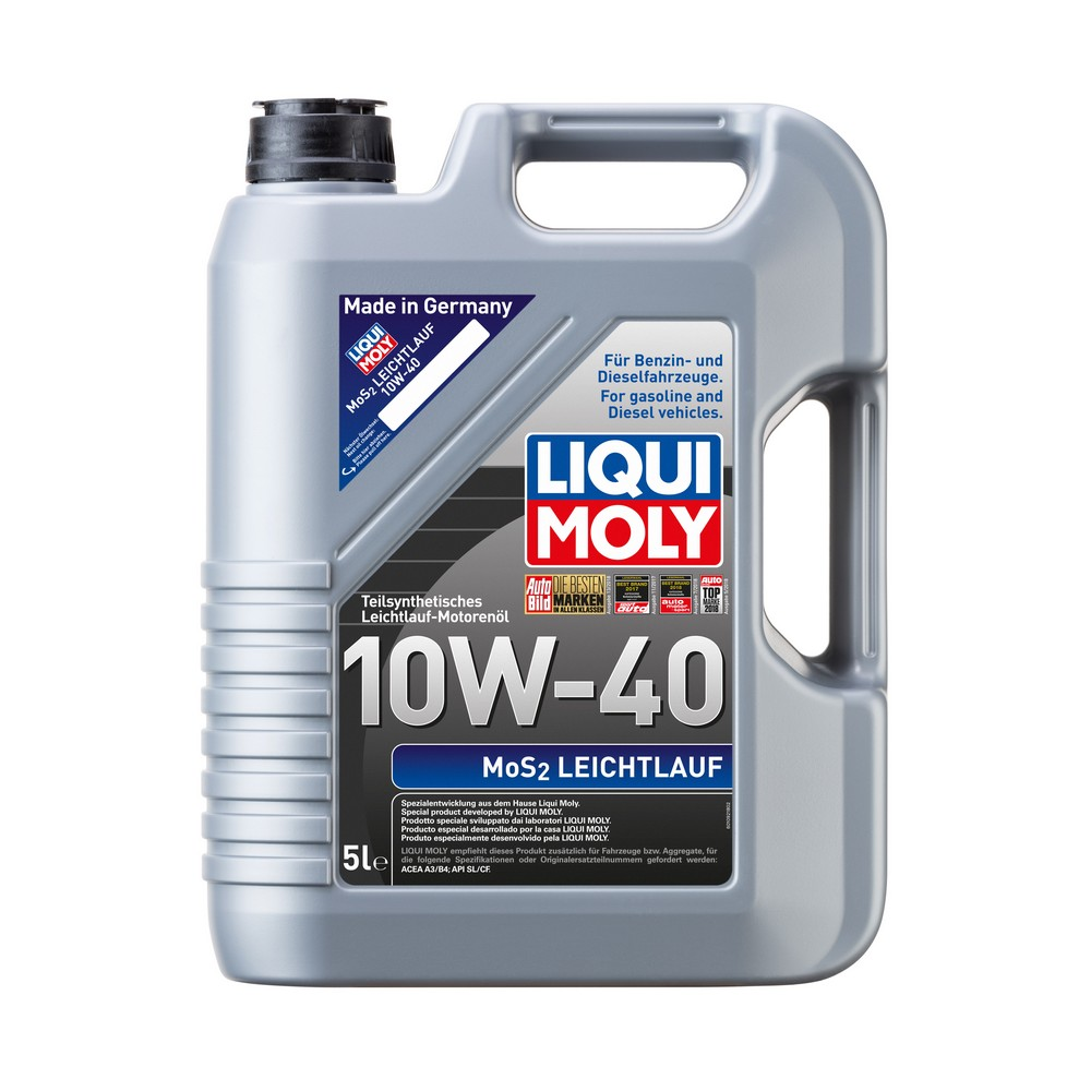 liqui moly mos2 leichtlauf 10w 40 5l mister oil. Black Bedroom Furniture Sets. Home Design Ideas