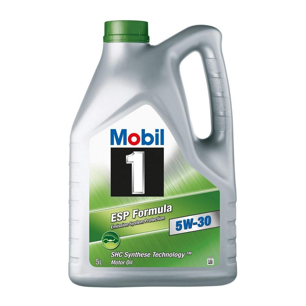 mobil 1 esp formula 5w 30 5l mister oil. Black Bedroom Furniture Sets. Home Design Ideas